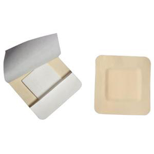 Cardinal Border Foam Gentle Adhesion Dressing, 5-1/2 x 5-1/2 Inch with Pad