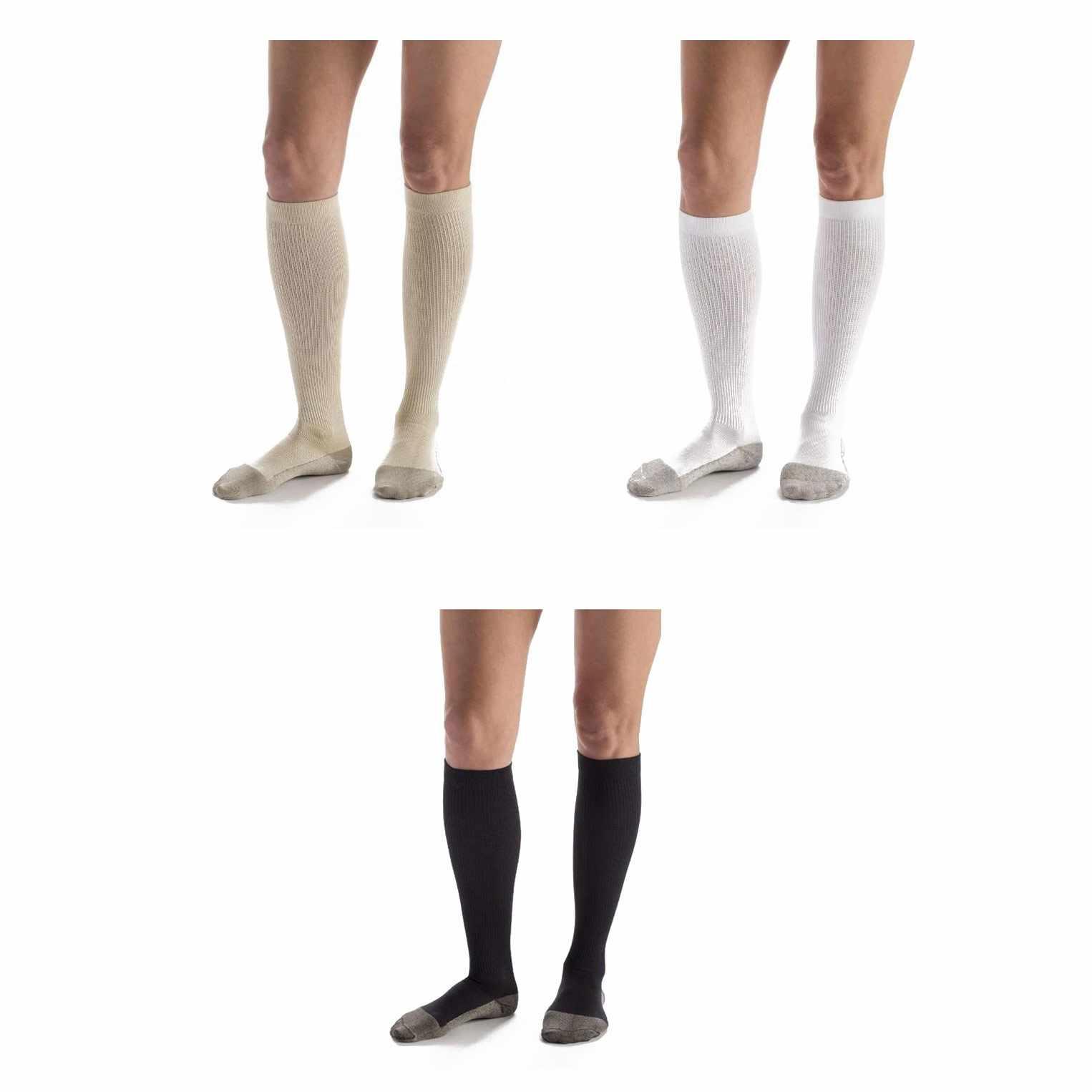 Carolon Cushion Foot Socks with Anti-Microbial Silver
