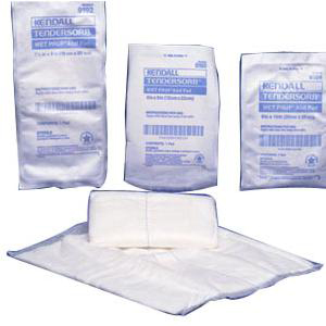 Cardinal Curity Wet-Pruf Non-Sterile Abdominal Pad, 5 Inch x 9 Inch