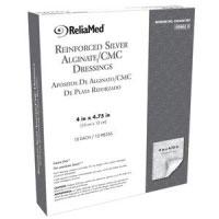 "Essentials Reinforced Alginate/CMC Dressing, 4"" x 4-3/4"" Pad"