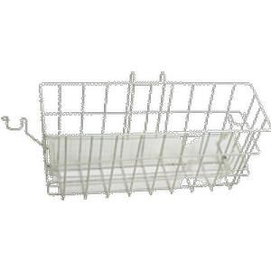 "Carex Snap On Walker Basket with Tray, 16"" W x 6"" D x 7"" H"