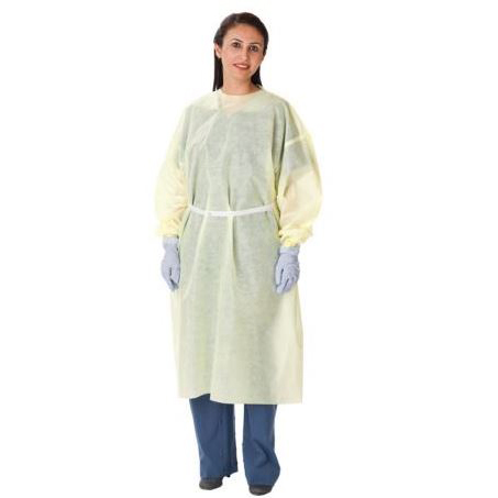 Isolation Gown AAMI Level 3, Universal, Yellow