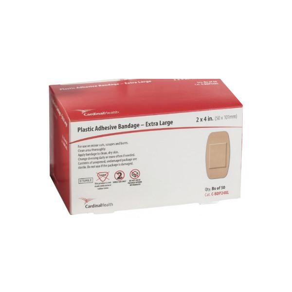 Cardinal Health Sheer Plastic Adhesive Bandage XL