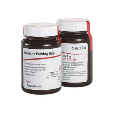 "Cardinal Health Sterile Iodoform Packing Strip 1/2"" x 5 yards"