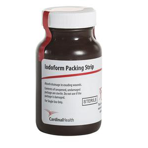 Cardinal Sterile Iodoform Packing Strip, 1/4 Inch x 5 Yard