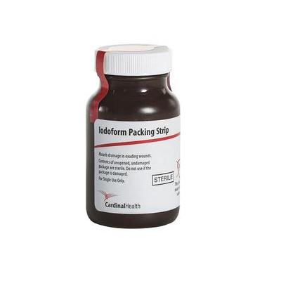 "Cardinal Health Sterile Iodoform Packing Strip 1"" x 5 yards"