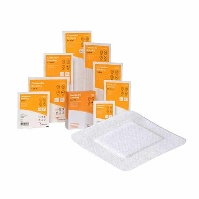 Cardinal Wound Care Composite Dressing, 4 Inch x 8 Inch