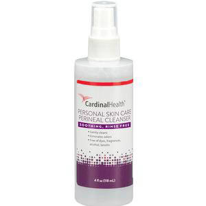 Cardinal Fragrance-Free Perineal Skin Cleanser Spray