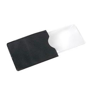 "Carson Optical MagniSlide Credit Card Size Fresnel Magnifier 5"" x 2"""