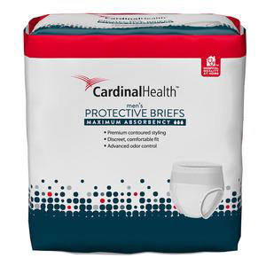 """Cardinal Health Maximum Absorbency FlexRight Protective Underwear for Men, 45"""" to 58"""""""