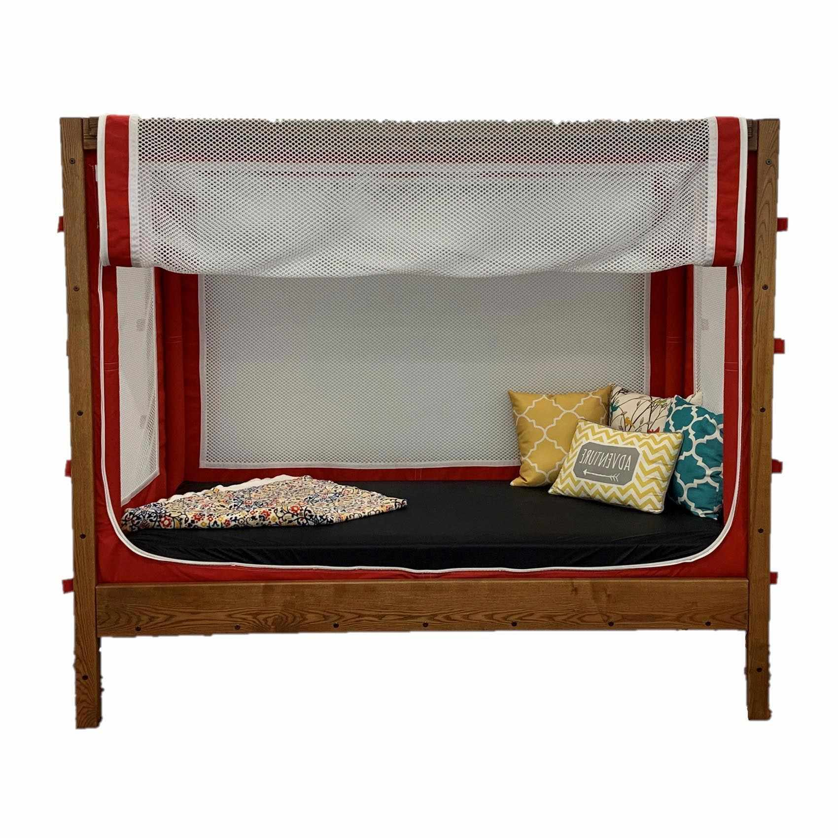 Courtney enclosed canopy bed