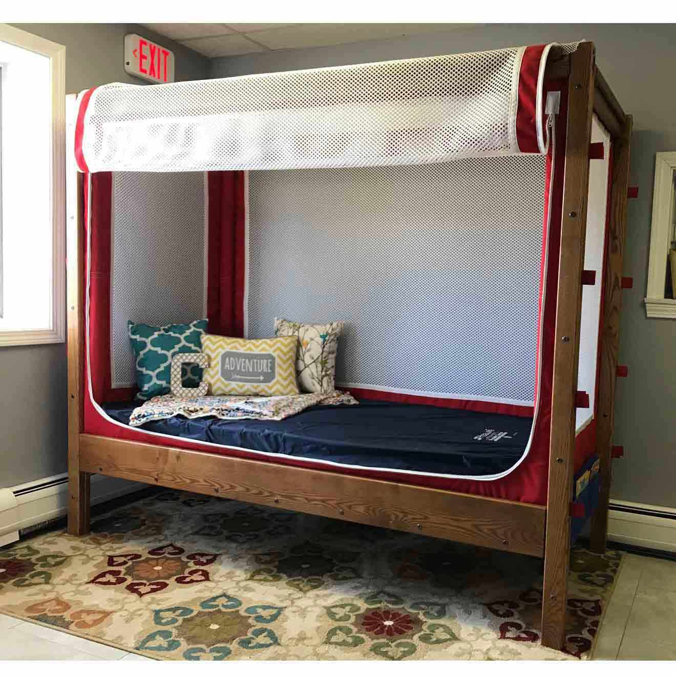 Courtney Enclosed Canopy Bed   Courtney Pediatric Bed