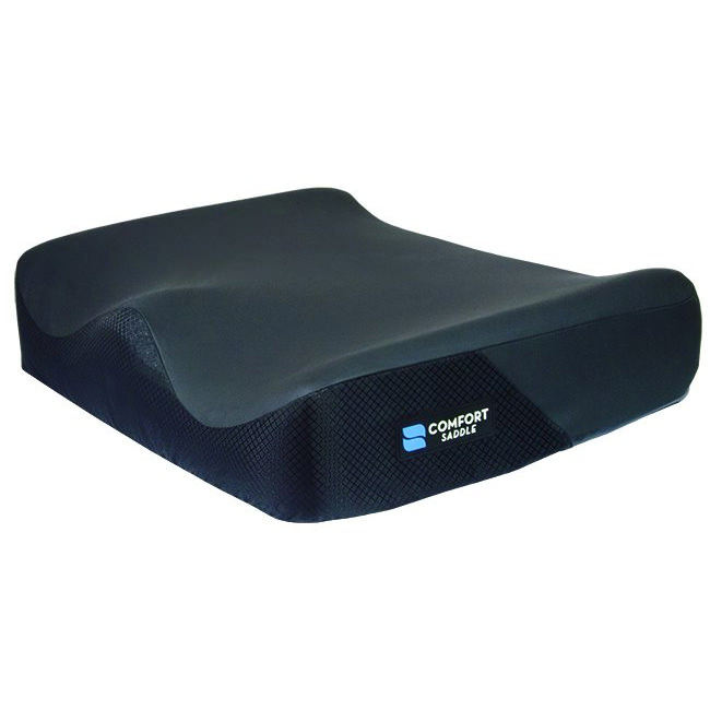 Comfort Company saddle 7 bariatric foam cushion with quadra gel