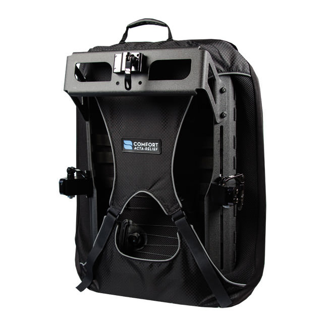Acta-relief back - shown with head support mount bracket