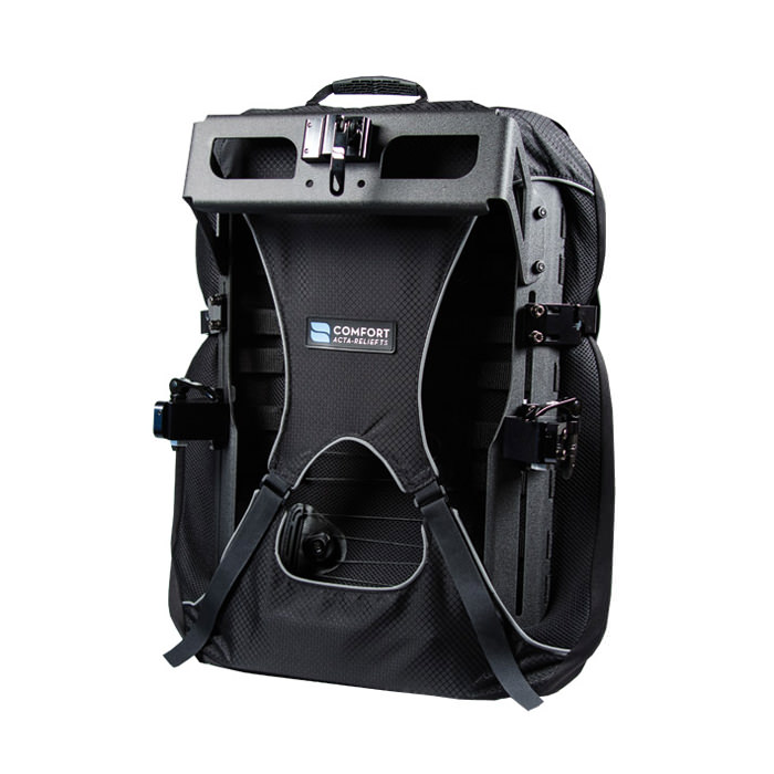 Acta-relief LTS back - Shown with head support mount bracket