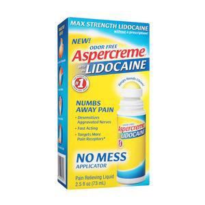 Aspercreme Pain Relief Cream, No Mess Applicator, 2.5 oz