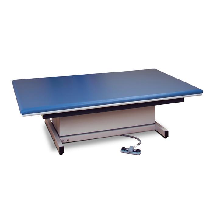 Clinton hi-lo mat platform with upholstered top
