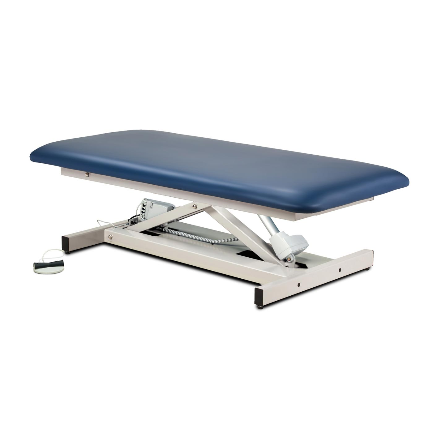 Clinton open base, extra wide, bariatric, straight top power table