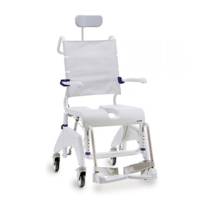 Aquatec ocean dual VIP tilt-in-space shower commode chair