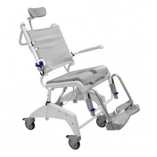 Ocean dual VIP tilt commode chair
