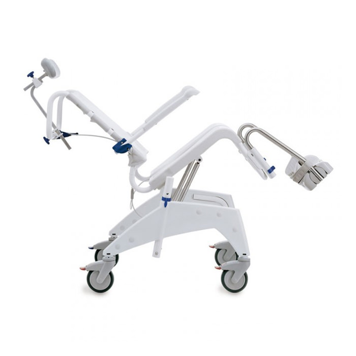 Aquatec ocean dual VIP tilt and recline shower chair