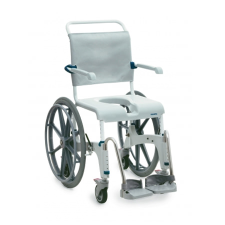 Aquatec ocean self-propel commode chair