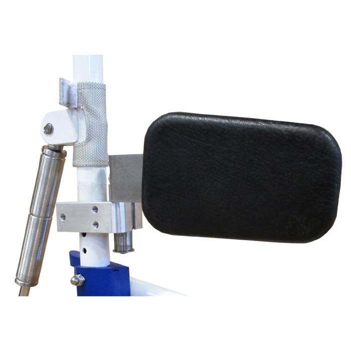 Aquatec ocean SP shower chair - Swing-away lateral pad