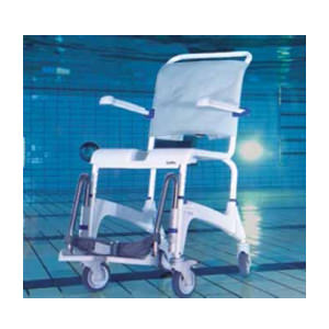 Aquatec ocean stainless steel commode chair