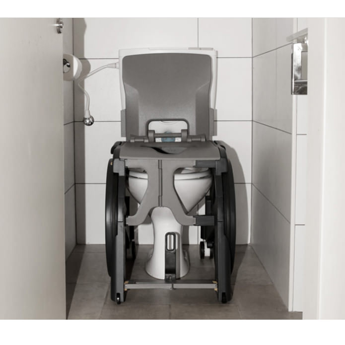 Wheelable Shower Commode Chair | Seatara | Medicaleshop