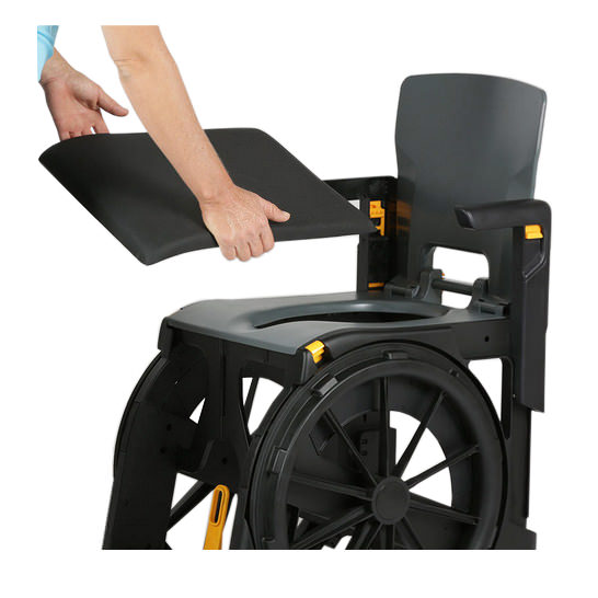 Wheelable Shower Commode Chair | Medicaleshop