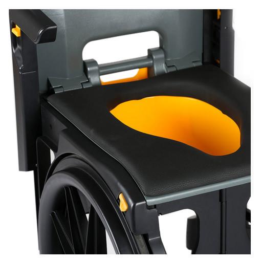 Wheelable Shower Commode Chair | Seatara (Wheelable)