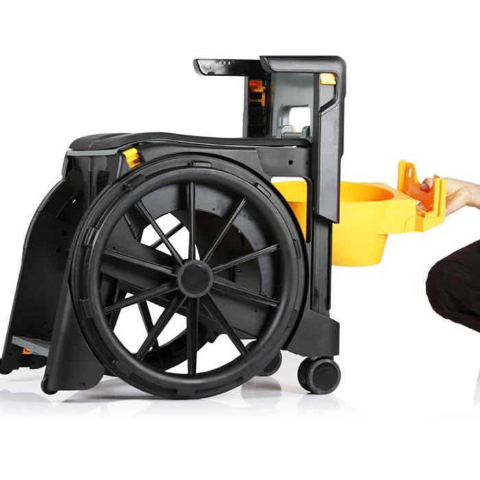 Wheelable Shower Commode Chair | Wheelable (Seatara)
