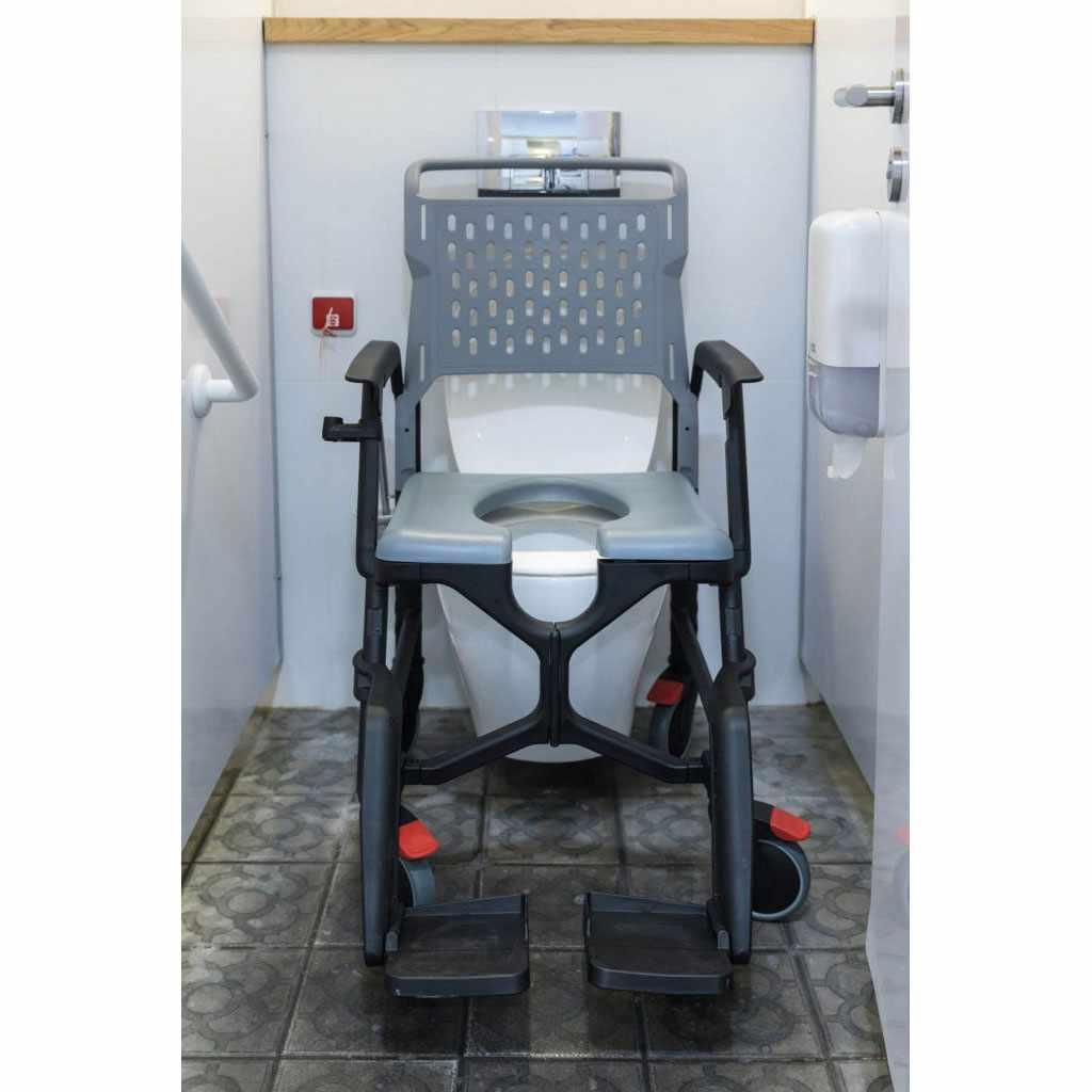BathMobile Portable shower commode chair