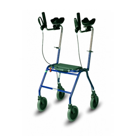 Dolomite Alpha rehab walker with forearm supports - Basic model