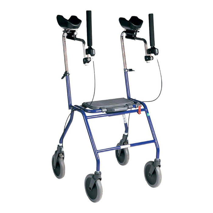 Dolomite Alpha rehab walker with forearm supports - Advanced model