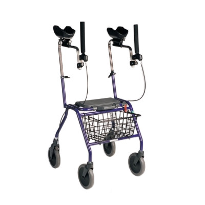 Dolomite Alpha rehab walker with removable basket