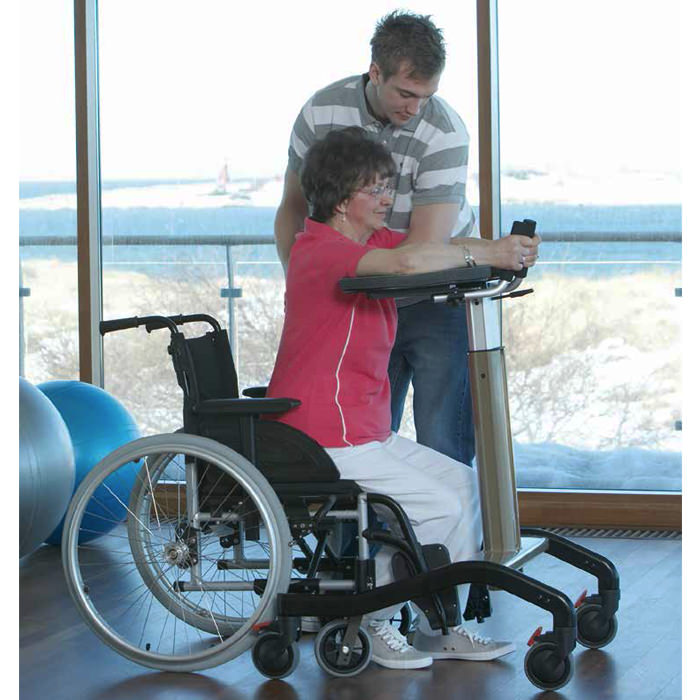 Dolomite step-up adjustable platform support walker