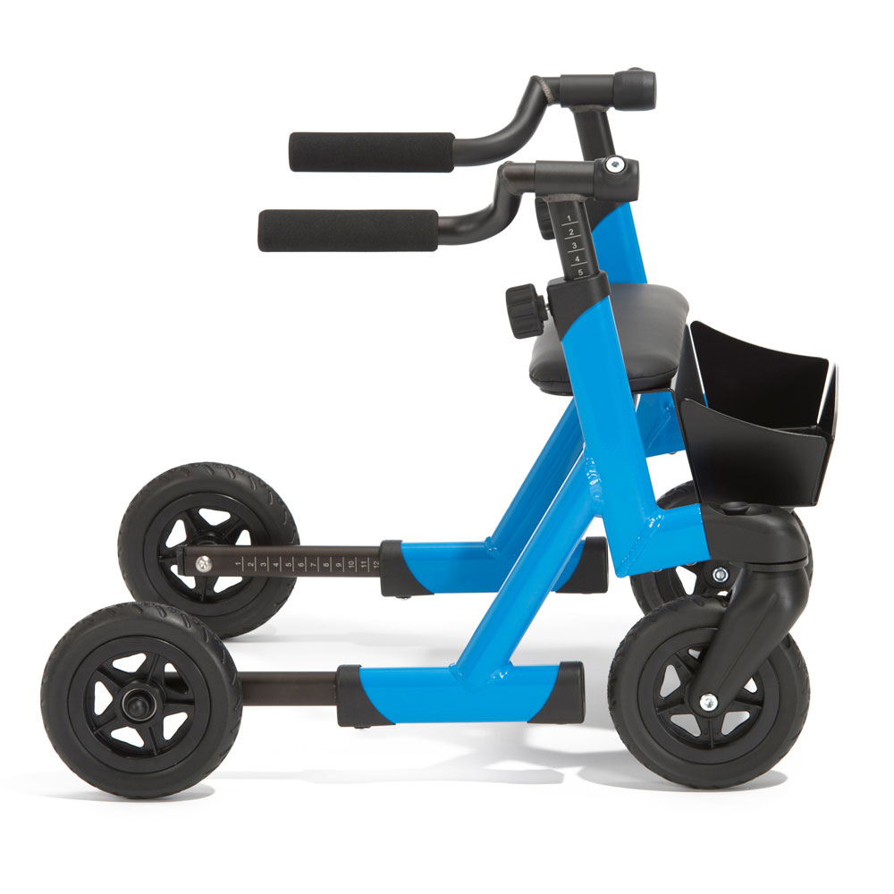 Marcy anterior rollator with telescopic wheelbase (optional)