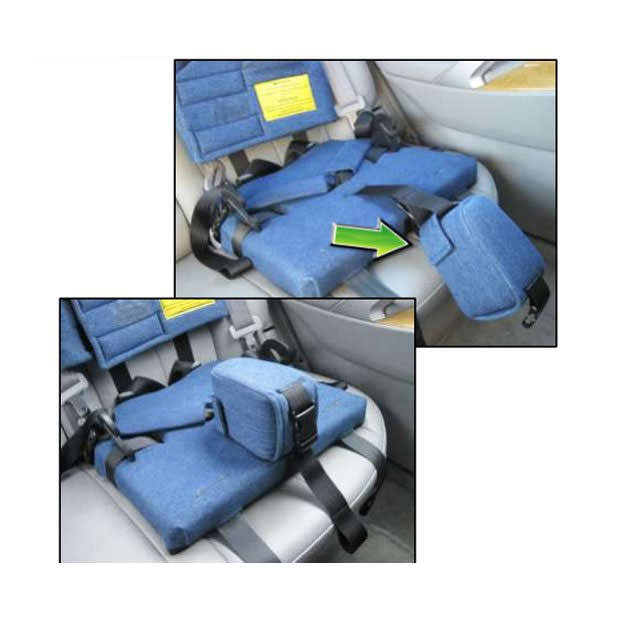 Churchill car seat with positioning vest - Abductor
