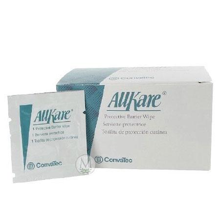 Convatec skin barrier wipe allkare individual packet