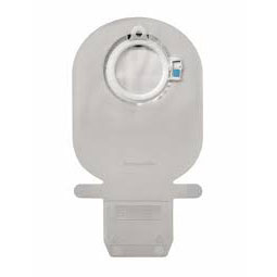 """Coloplast Mio 1-piece wide outlet drainable pouch, midi w/inspection window, 3/8"""""""