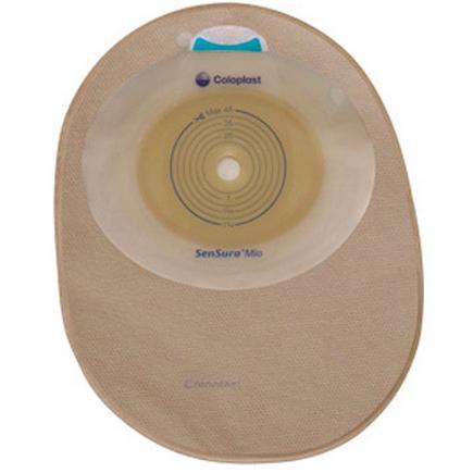 """Coloplast pouch ostomy Sensura 5/8"""" to 1 3/4"""""""