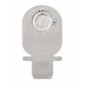 Coloplast Sensura mio click urostomy pouch, maxi, transparent, no filter, soft outlet