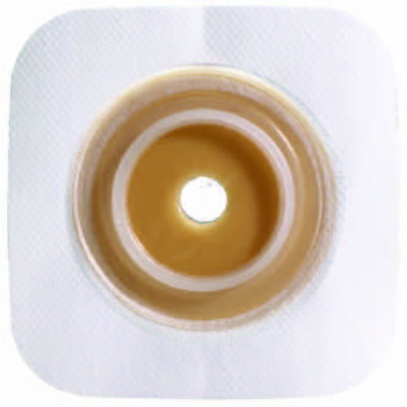 "Sur-Fit Natura stomahesive colostomy barrier, cut-to-fit, Tan Tape 1-1/4"" Flange"