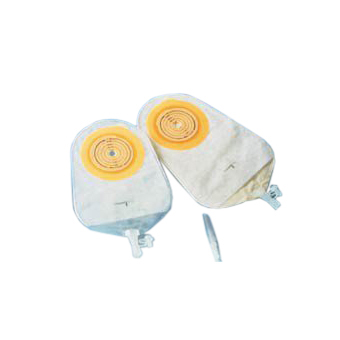 """Coloplast Assura 1-piece urostomy Drainable pouch, 3/8"""" to 2-1/4"""" stoma, 10-3/4""""L, 470ml"""
