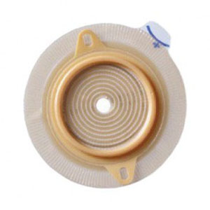 "Coloplast colostomy barrier Assura pectin based green code synthetic resin 7/8"" stoma"