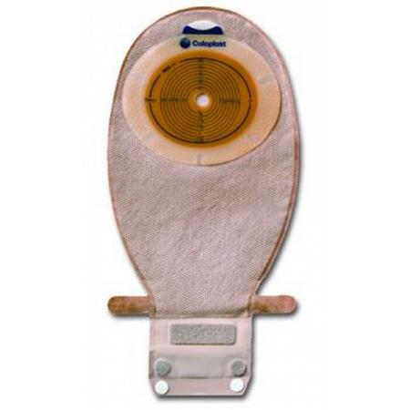 """Coloplast Sensura 1-piece wide outlet drainable pouch precut convex 1"""", transparent"""