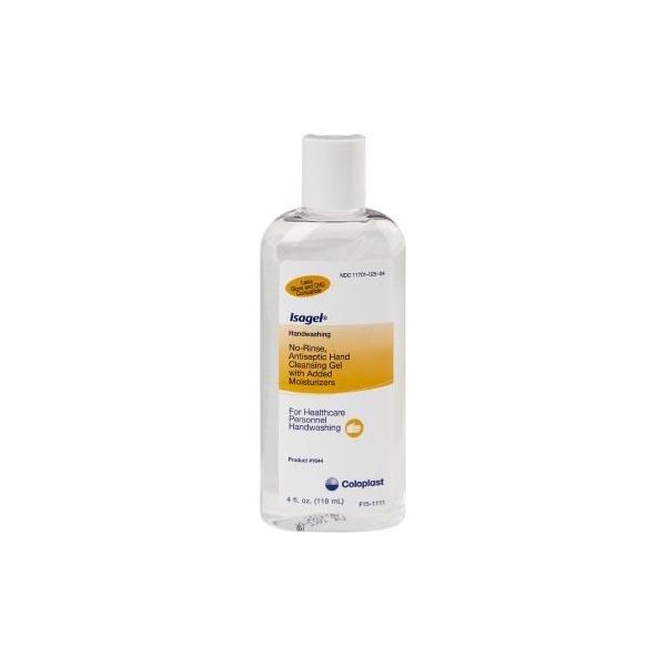 Coloplast Isagel Instant Hand Sanitizing Gel 4 oz, No-Rinse