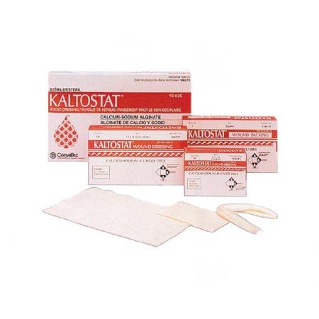 """KALTOSTAT Fortex Calcium Sodium Alginate Dressing 4"""" x 4"""""""