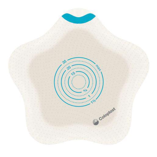 Coloplast Sensura Mio Flex Kids Two-Piece Ostomy Barrier, 35Mm Stoma